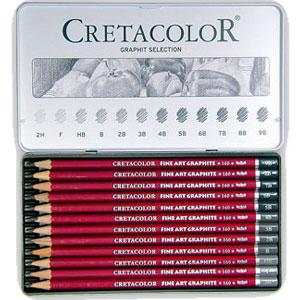 ست 12 عددی مداد طراحی سری B و H کرتاکالر