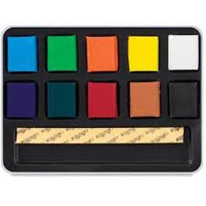 آبرنگ بلوکی 10 رنگ جدید کرتاکالر