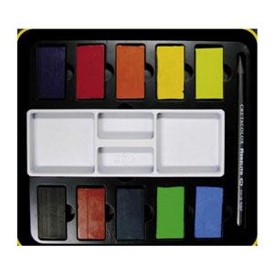 آبرنگ بلوکی 10 رنگ کرتاکالر