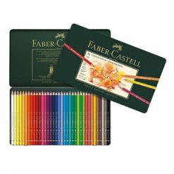مداد رنگی پلی کروموس جعبه فلزی فابرکاستل